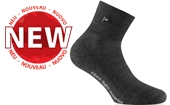 Rohner fibre light Socke new quarter anthrazit