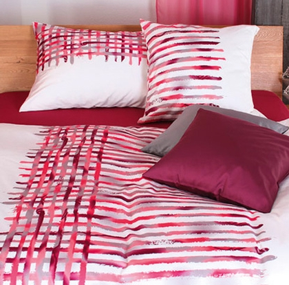 tamara satin bettw sche xenia rot bettw sche shop. Black Bedroom Furniture Sets. Home Design Ideas