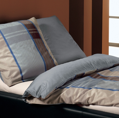 bugatti bettw sche blau beige duvet 160x210cm shop shop memo trade ag. Black Bedroom Furniture Sets. Home Design Ideas
