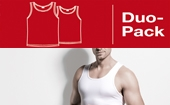 ISA BASIC Duo Pack Athletic-Shirt in 2 Farben